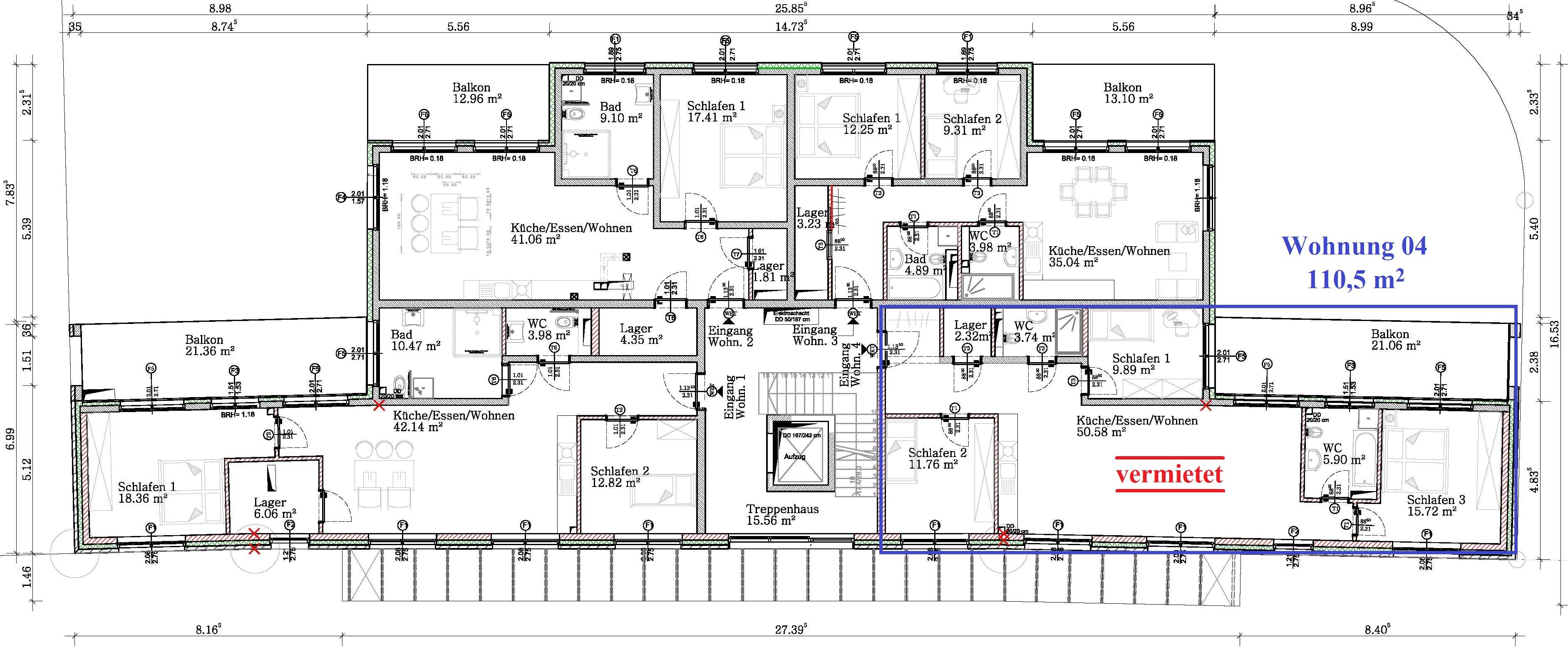 Bauplanung Hannover 4 zimmer wohnungen schulenburg hannover
